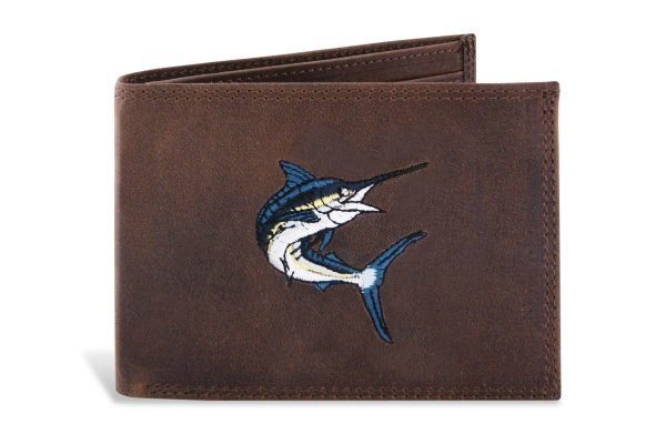 wallet white marlin