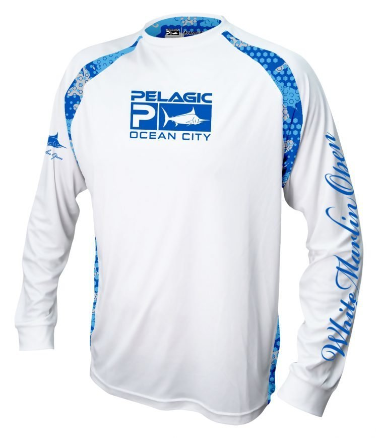 white long sleeve white marlin