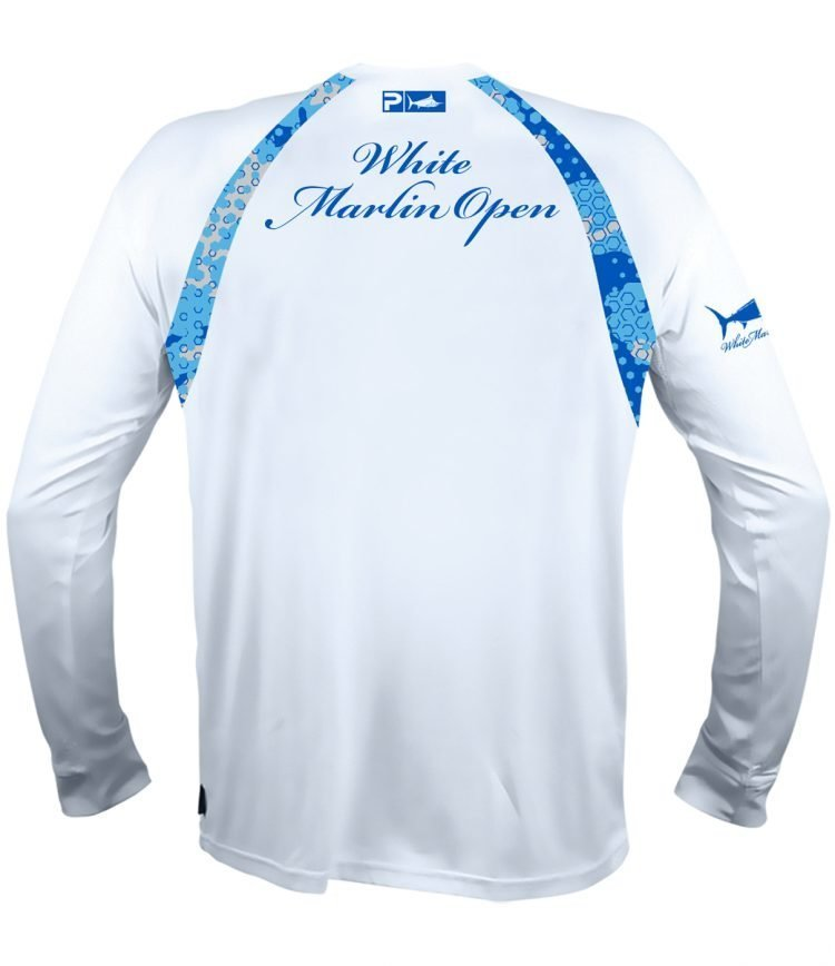 white long shirt white marlin