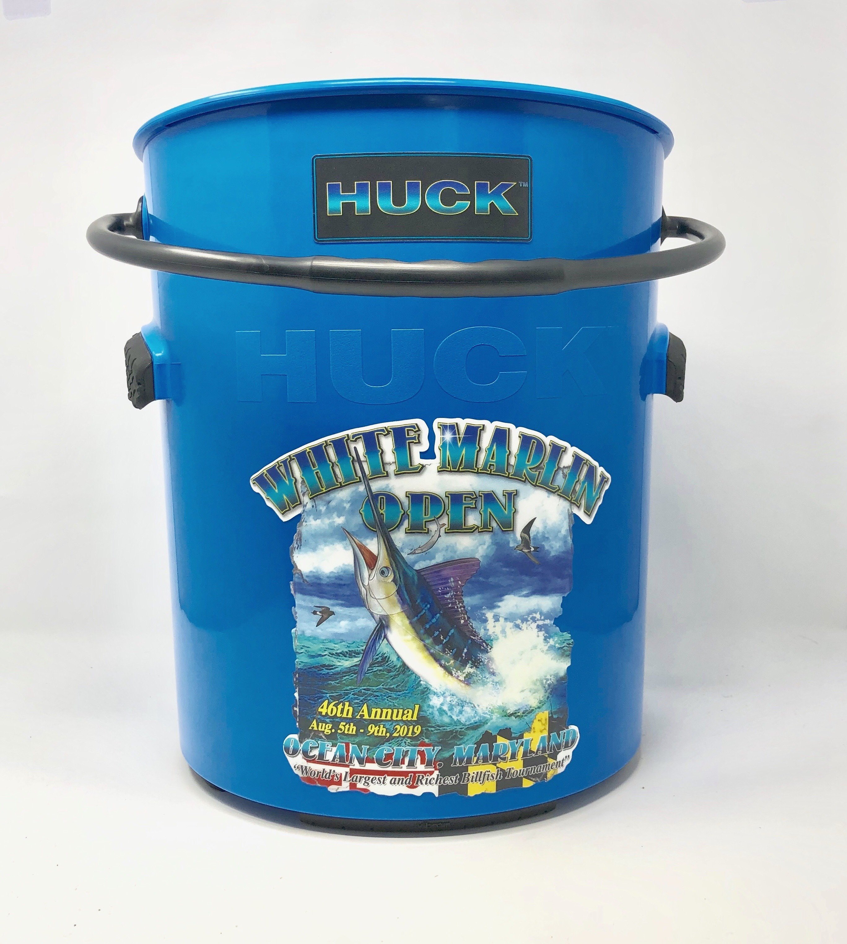 Blue White Marlin Bucket
