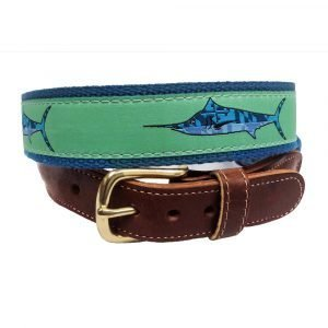 white marlin belt