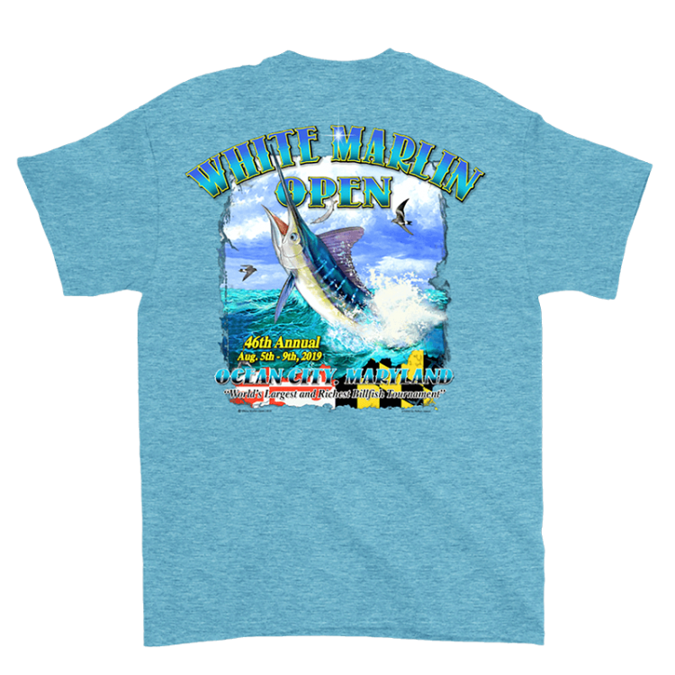 Turquoise Marlin Shirt
