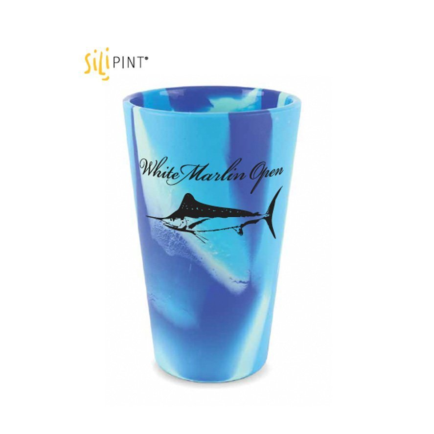 purple blue white marlin cup