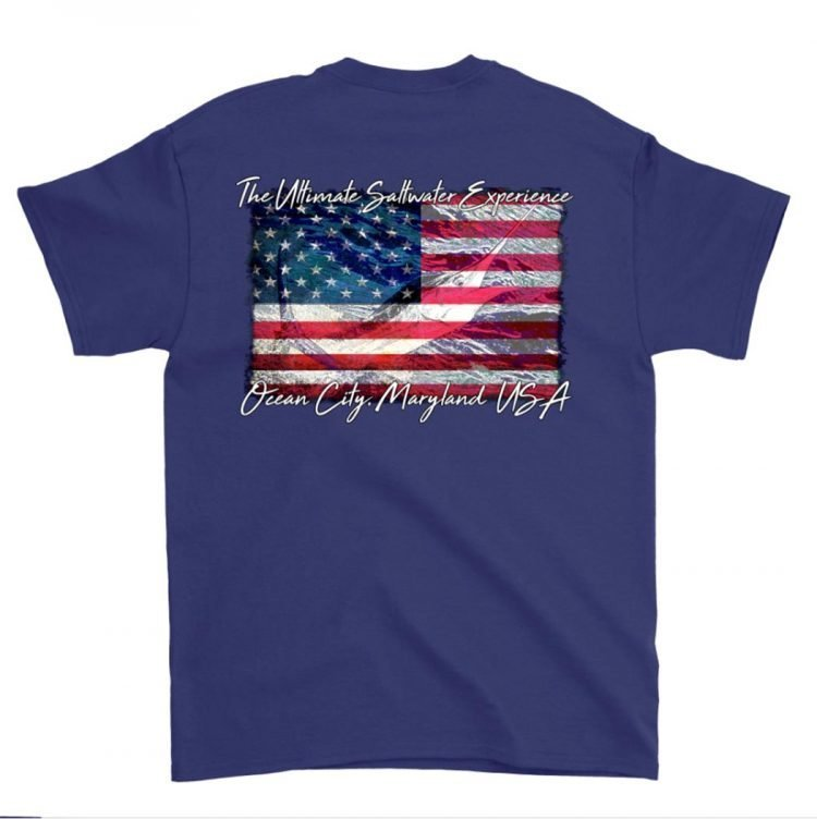 Navy US short t-shirt